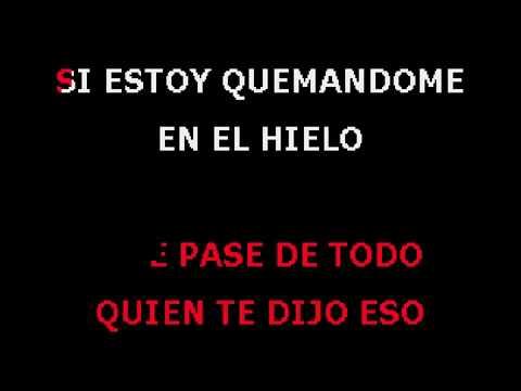 Quien Te Dijo Eso Karaoke Espanol Luis Fonsi