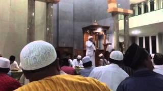 Sambutan ket panitia peringatan maulud nabi masjid alfattah jimbaran