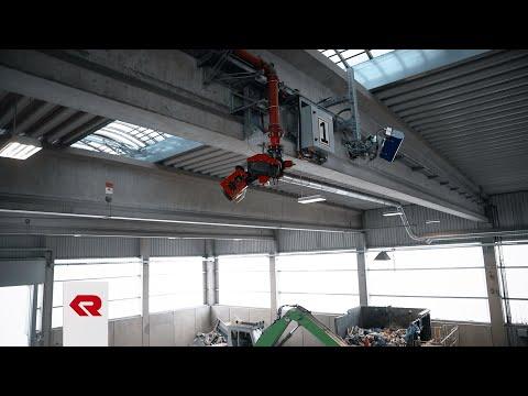 Rosenbauer Löschanlage für die Hufnagel Service GmbH