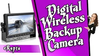 eRapta Digital Wireless Backup Camera reviews | Top Rated Amazon Review