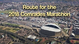 Route for The Comrades Marathon 2018
