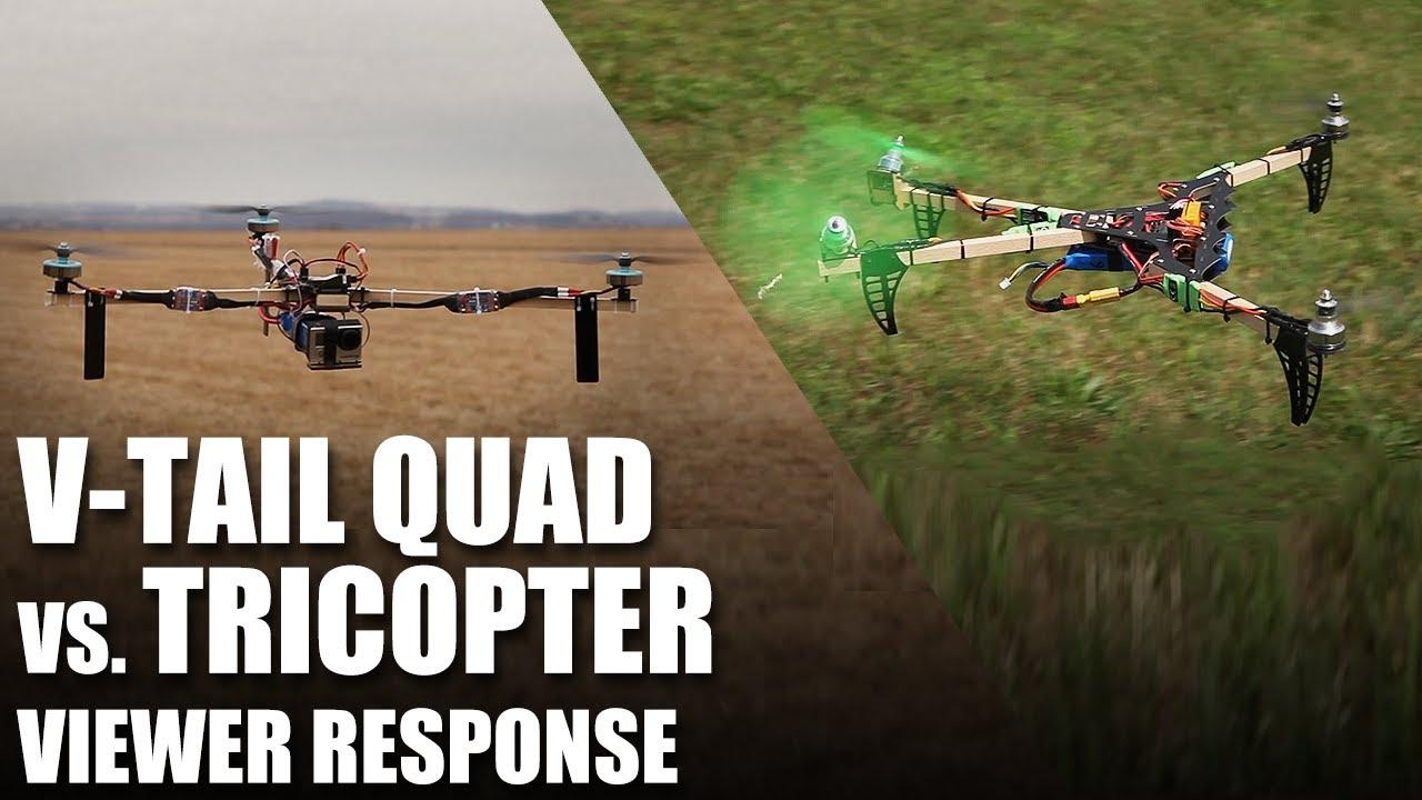 Flite Test - V-Tail Quad vs. Tricopter - Viewer Response - YouTube