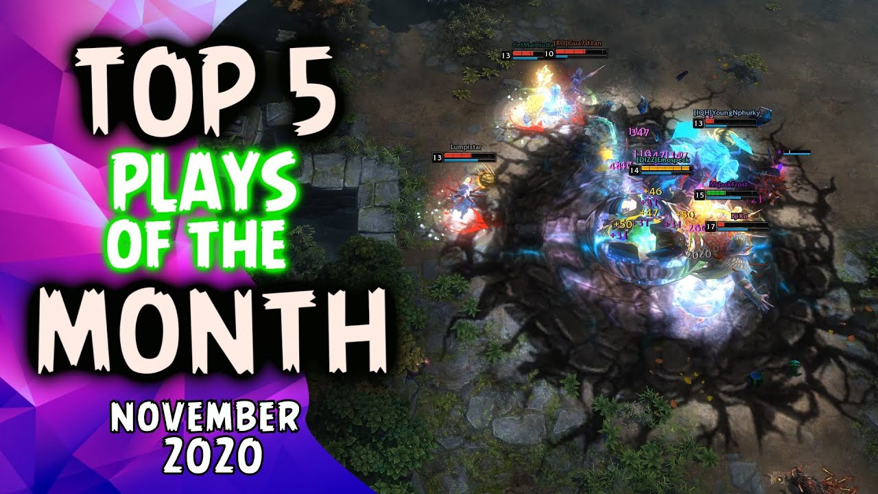 HoN Top 5 Plays of The Month | November (2020)