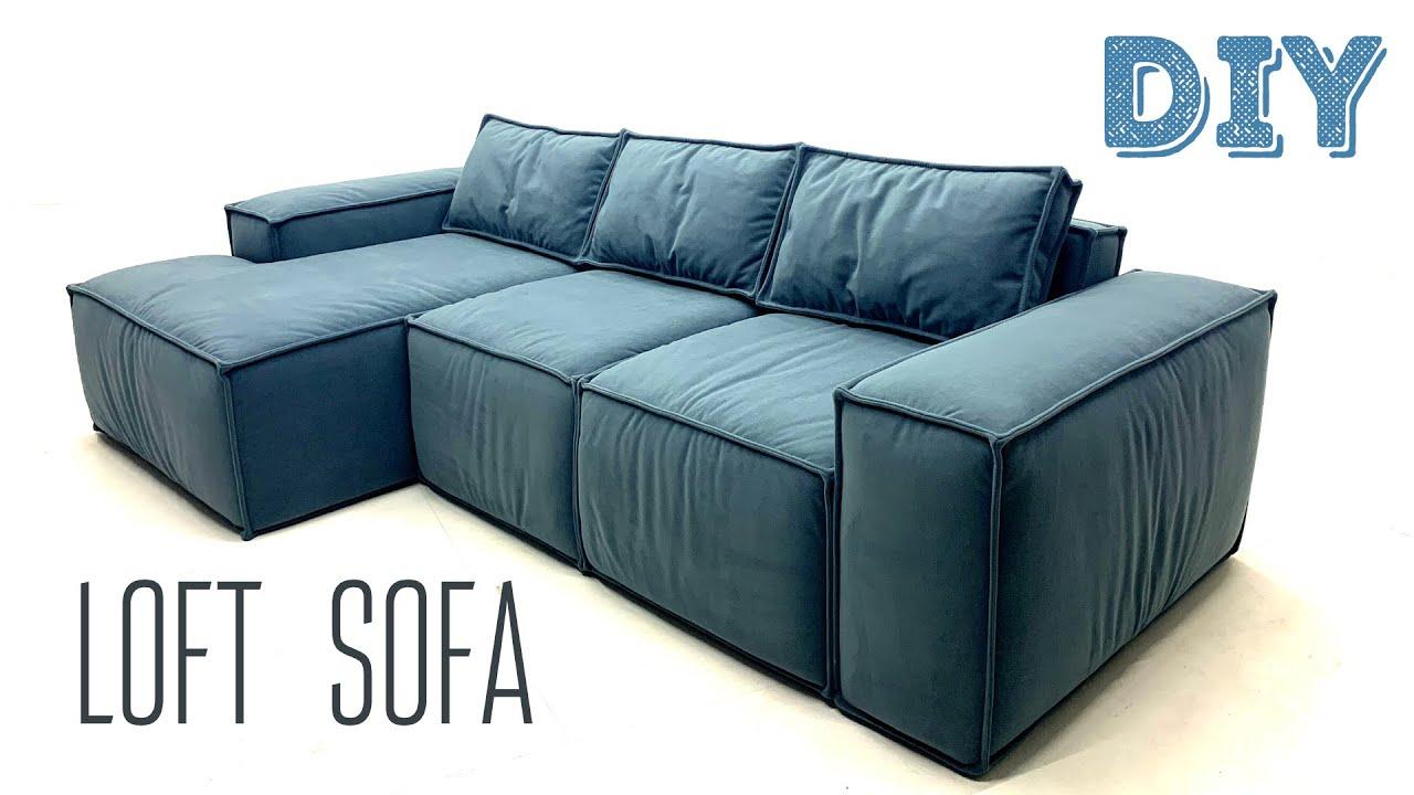 Как сделать ДИВАН в стиле LOFT / How to make a SOFA in the LOFT style