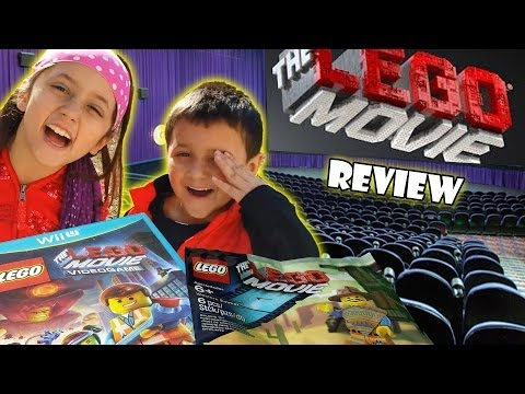 Lego Movie review by Skylander Boy & Girl | Gamestop Exclusive Western Emmet Build FAIL Video Game Travel Video