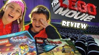 Lego Movie review by Skylander Boy & Girl | Gamestop Exclusive Western Emmet Build FAIL Video Game thumbnail