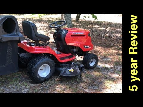 Troy-Bilt Bronco Riding Mower (19 HP) 5 year Review