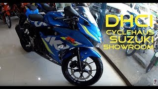 Motorcycle Shop Visit: Suzuki Showroom DHCI Cyclehaus @Quezon Boulevard Davao City