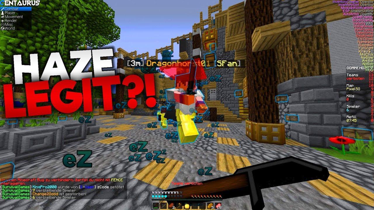 Darum SPIELE Ich LEGIT Seit JAHREN In MINECRAFT Lets Hack - Minecraft real spielen