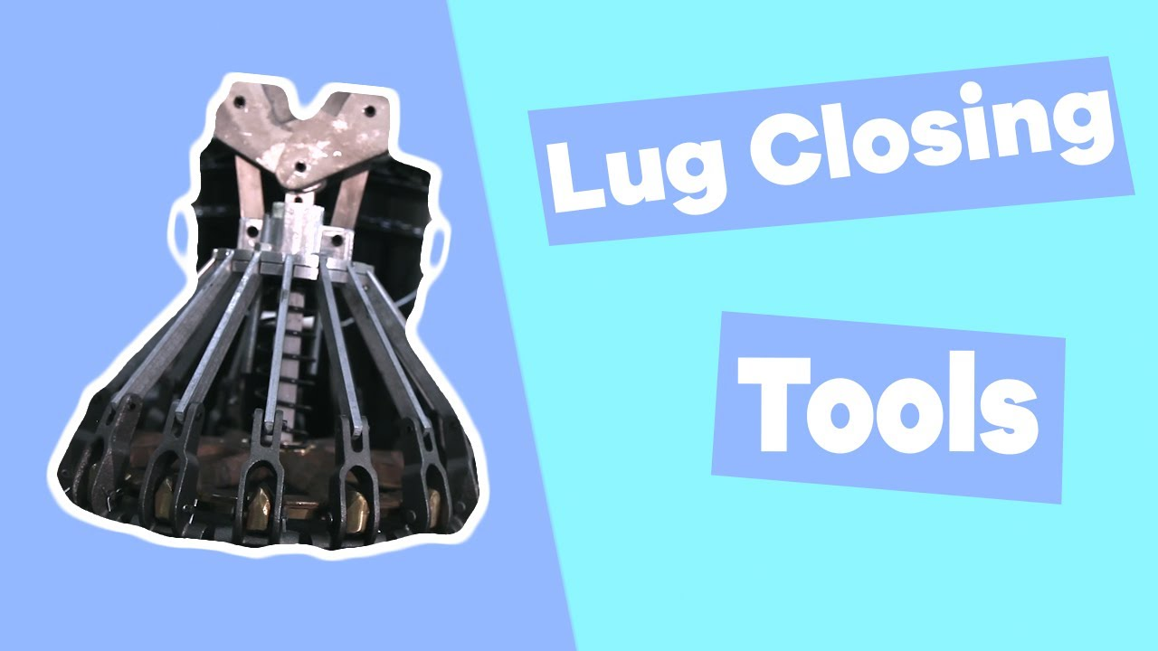 Steel Pail Lug Closing Tools Youtube