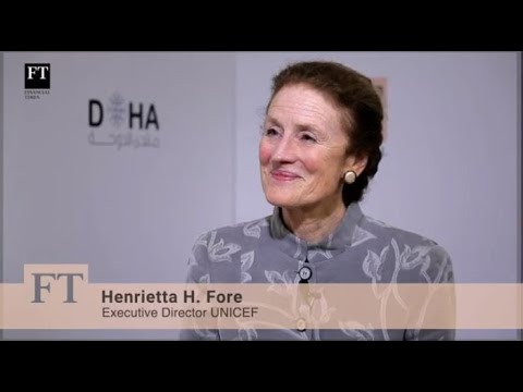 Doha Forum 2018 - Henrietta Fore, Executive Director, UNICEF