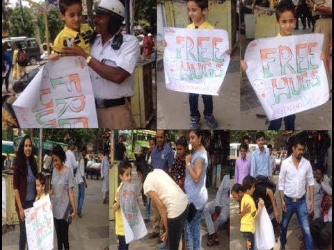 free hugs in Bangalore India | Independence Day special | pranks | hugs| Mc Taiwer | Bangalore Media