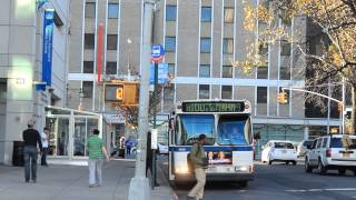 MaBSTOA Bus: East Harlem Bound Orion 5 M100 at W. 166th St / St. Nicholas Ave
