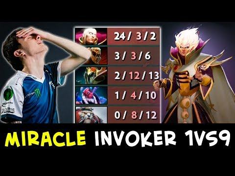 Miracle Invoker — 1 vs 9