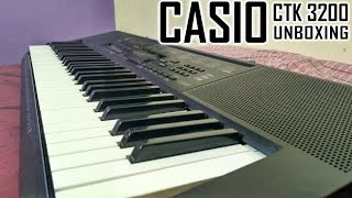 CASIO CTK 3200 Unboxing & Quick Review