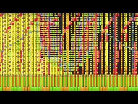 Black MIDI Synthesia – Soul Eater  Resonance 6 million  Impossible Remix ~ BusiedGem