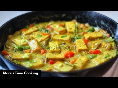 Coconut Curried Tofu | Plant Based | Lesson #140 | Morris Time Cooking
