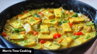 Coconut Curried Tofu   Plant Based    Lesson #140   Morris Time Cooking