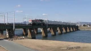 2017.02.19 京成電鉄3000形(3035F)8両 甲種輸送 豊川〜豊橋マデ