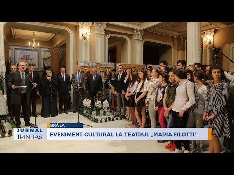 "Eveniment cultural la Teatrul ""Maria Filotti"""