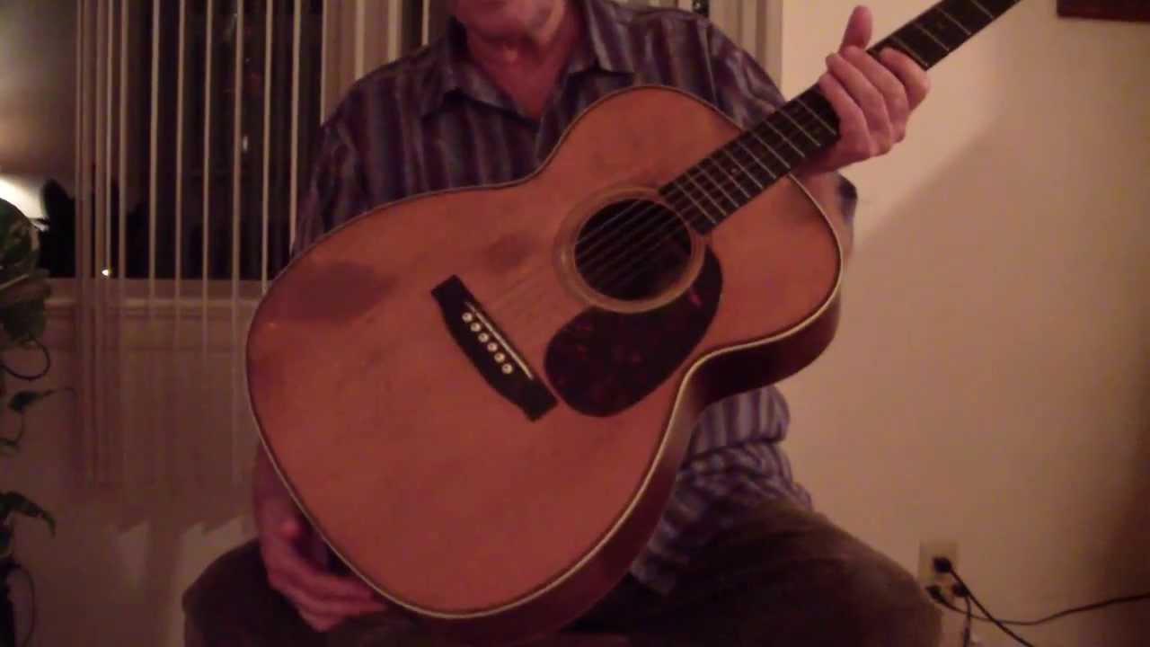 martin guitar vintage 1938 00028 for sale youtube. Black Bedroom Furniture Sets. Home Design Ideas