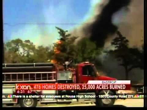 Bastrop Fire Update At 4:30 A.m. Tuesday, Sept. 6