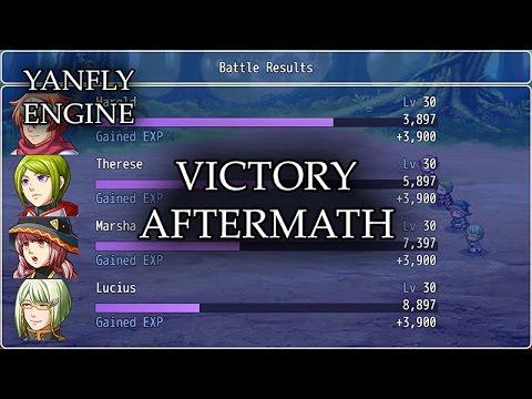 YEP 7 - Victory Aftermath - RPG Maker MV