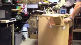 Miter Saw Table Extension Experiment.