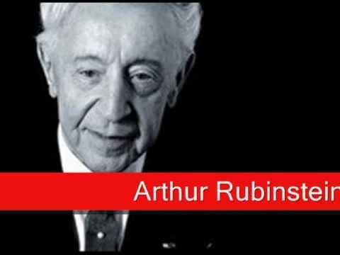 Arthur Rubinstein: Chopin - Waltz No. 1 Op. 18 in E flat major 'Grande Valse Brillante'