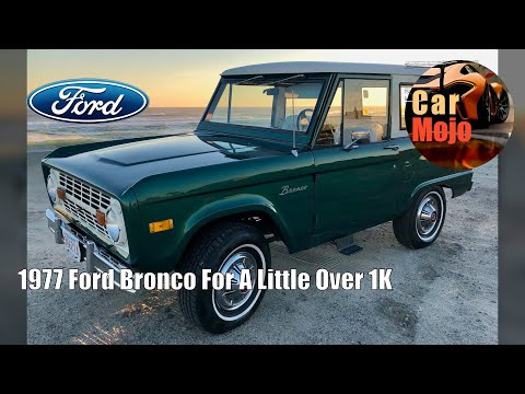 1977 Ford Bronco For A Little Over $11K   CarMojo