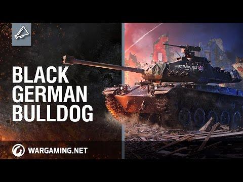 World of Tanks PC -  M 41 90 GF: Black German Bulldog