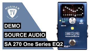Source Audio SA 270 - One Series EQ2 - Demo