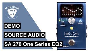 Source Audio SA 270 - One Series EQ2 - Demo