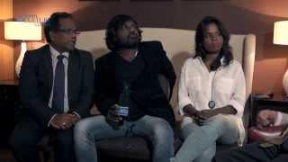 Dheepan actors interview Anthonythasan Jesuthasan Kalieaswari Srinivasan #LFF2015