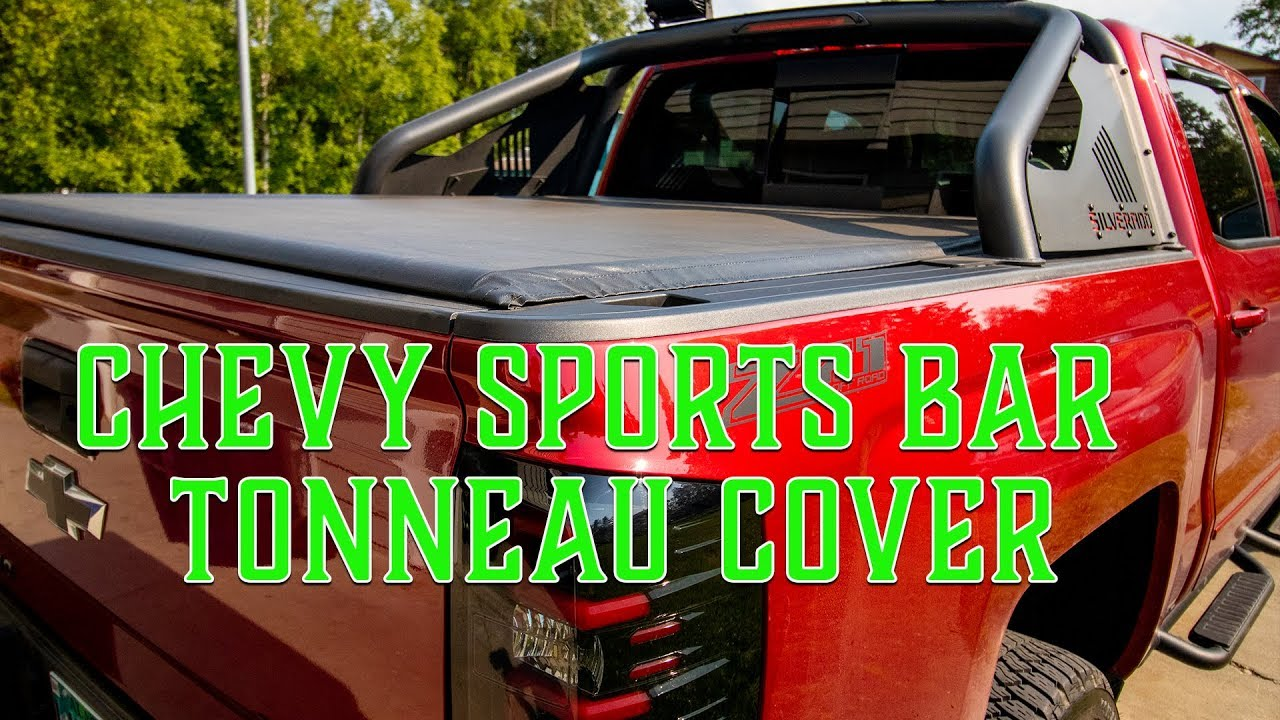 2018 Chevy Silverado And Sierra Sports Bar Tonneau Cover Review Youtube