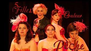 Cinq filles couleur pêche - Alan Ball - Avignon Off 2012 - Les 7 Fromentins