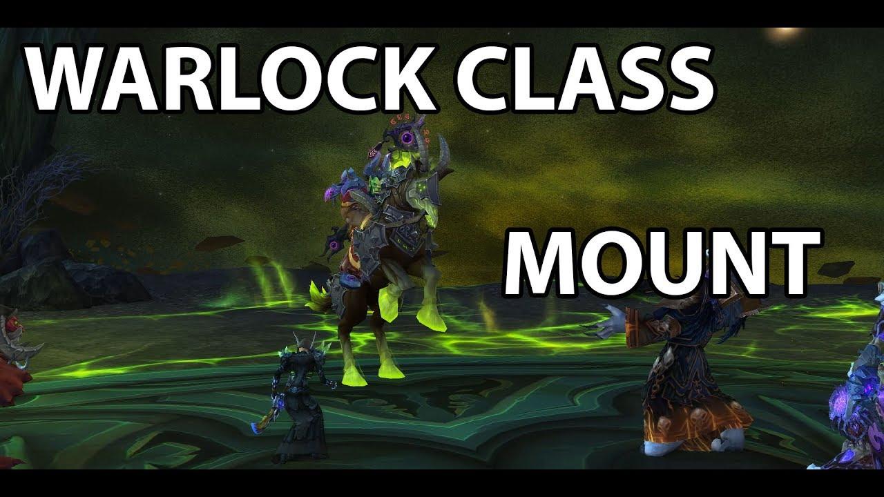 Warlock S Class Mount Questline Youtube How to get all 3 warlock class mount skins! warlock s class mount questline