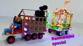 Jai Shree Ram | Ram Navami special | DJ Truck loading | shree Ram Janki | Tech Toyz