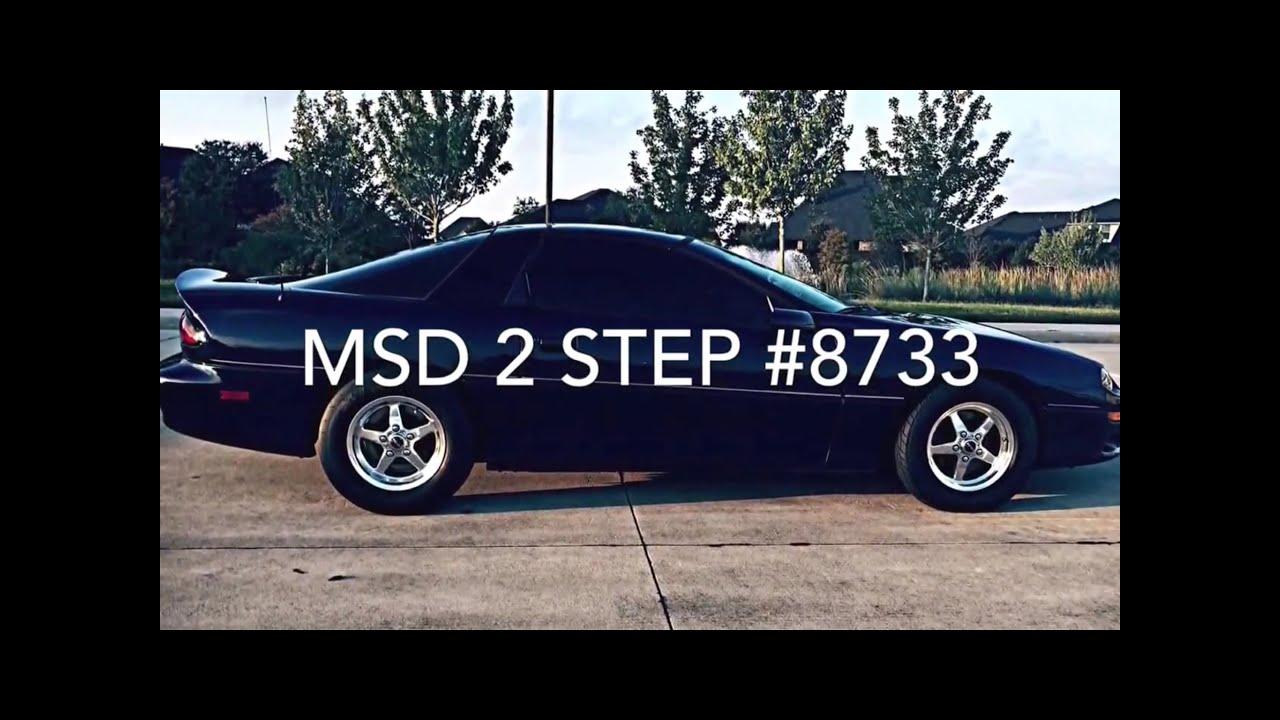 MSD 8733 LS 2-Step Launch Control Camaro Corvette