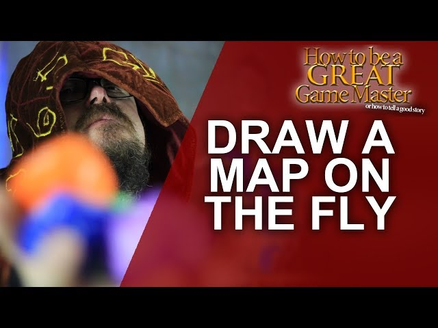 Great GM: Making Maps on the Fly - Game Master Tips for your Tabletop RPG