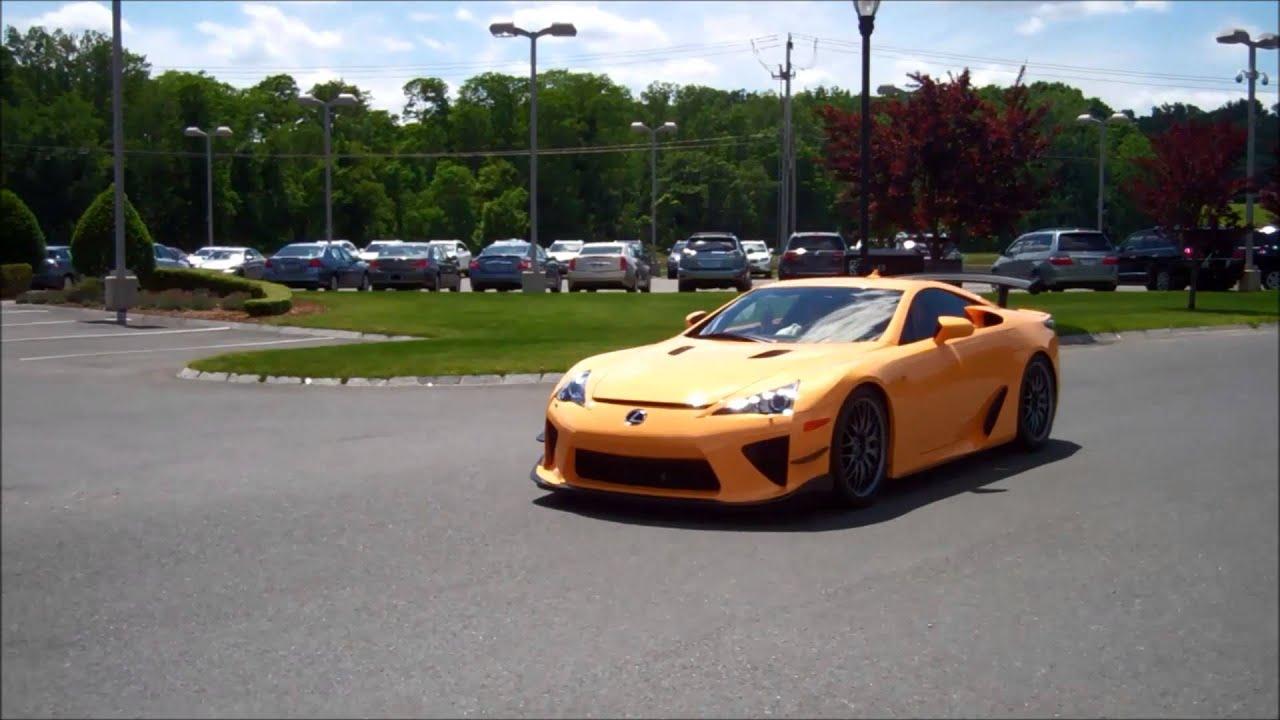 Balise Lexus Lfa Ride June 2014 Youtube