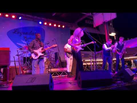 #LIVE Aboard The Legendary Blues Cruise 34 Ana Popovic & Dexter Allen