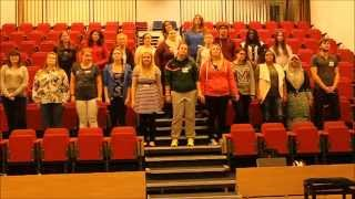 Walk The Moon- Shut Up and Dance (University of Derby Glee Club Cover)