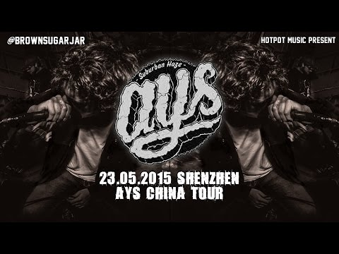 AYS(Against Your Society) Full Set Live in Shenzhen China Tour 2015