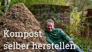 Kompostierung im Hausgarten | Teil 1