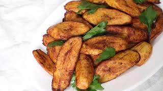 Nigerian cooking how to fry plantain (Fried ripe plantian recipe)