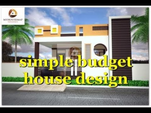 simple budget ground floor house design 1000 sq ft floor plan