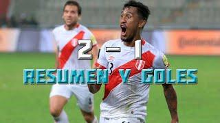 Perú vs Ecuador 2-1 | Eliminatorias Rusia 2018 - Fecha 8 Resumen y Goles en HD 06/09/2016