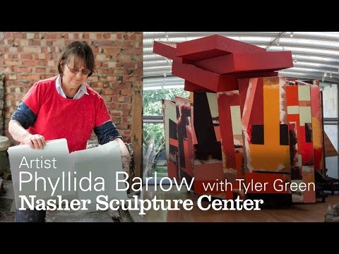 Sculpture that Elbows its Way Into a Room: Artist Phyllida Barlow speaks with Journalist Tyler Green