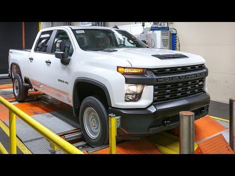 2020 Chevrolet Silverado HD Production in Flint, Michigan